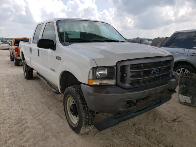 Salvage cars for sale from Copart Temple, TX: 2004 Ford F350 SRW S