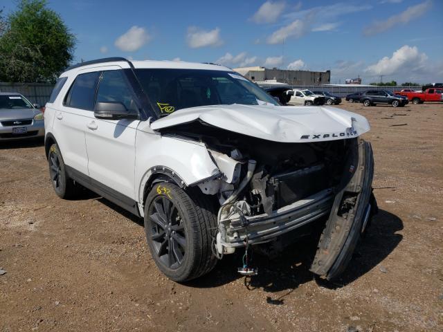 Vehiculos salvage en venta de Copart Mercedes, TX: 2017 Ford Explorer X