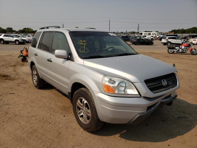 Salvage cars for sale at Nampa, ID auction: 2004 Honda Pilot