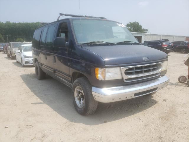 Salvage trucks for sale at Hampton, VA auction: 2000 Ford Econoline