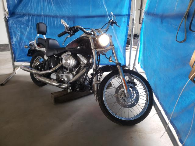 Vehiculos salvage en venta de Copart Madison, WI: 2004 Harley-Davidson Fxsti