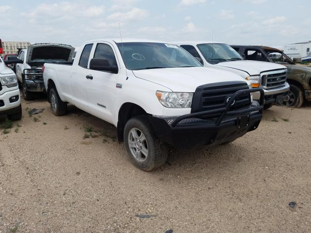 Salvage cars for sale from Copart Amarillo, TX: 2011 Toyota Tundra DOU