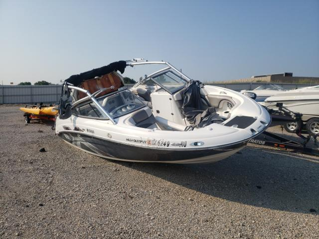 Salvage cars for sale from Copart Wilmer, TX: 2008 Yamaha Boat