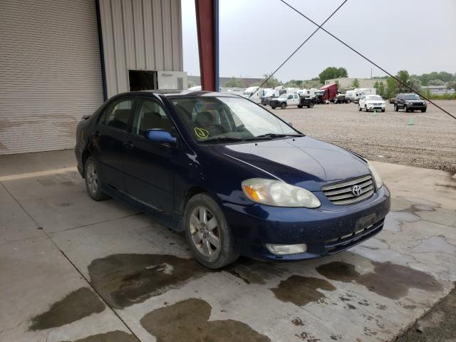 Salvage cars for sale from Copart Billings, MT: 2003 Toyota Corolla CE