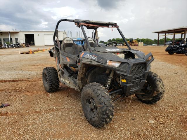 Salvage motorcycles for sale at Tanner, AL auction: 2015 Polaris RZR S 900