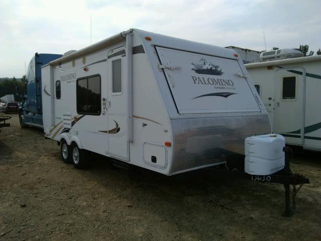 Palomino salvage cars for sale: 2012 Palomino Travel Trailer