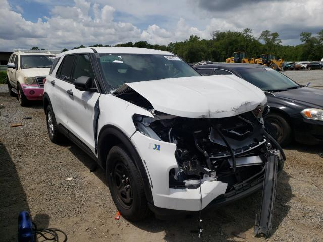 Salvage cars for sale from Copart Jacksonville, FL: 2020 Ford Explorer P