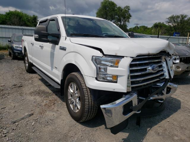 Salvage cars for sale from Copart Albany, NY: 2015 Ford F150 Super