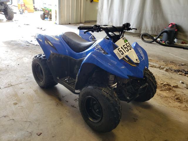 Salvage motorcycles for sale at Tifton, GA auction: 2020 Kawasaki KSF90 A