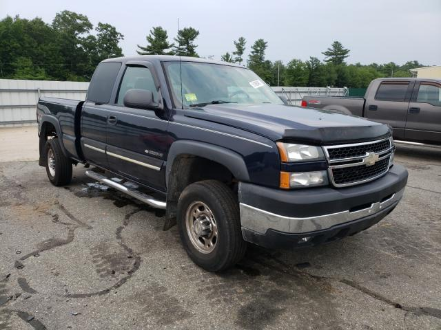 Salvage cars for sale from Copart Exeter, RI: 2007 Chevrolet Silverado