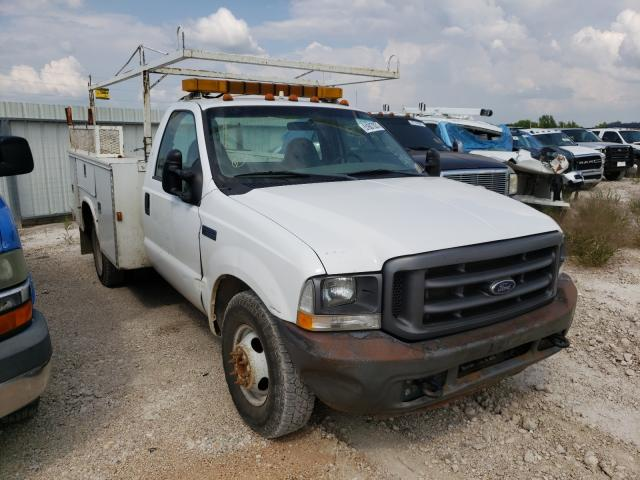 Salvage cars for sale from Copart Temple, TX: 2004 Ford F350 Super