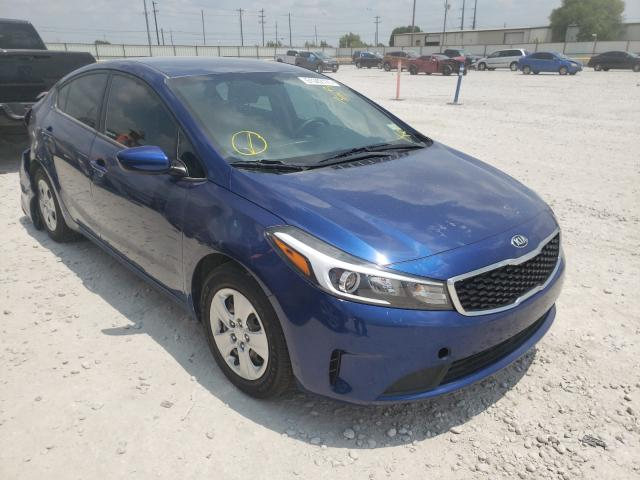 Salvage cars for sale from Copart Haslet, TX: 2017 KIA Forte LX