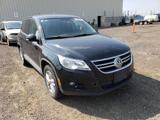 Vehiculos salvage en venta de Copart Rocky View County, AB: 2009 Volkswagen Tiguan SE