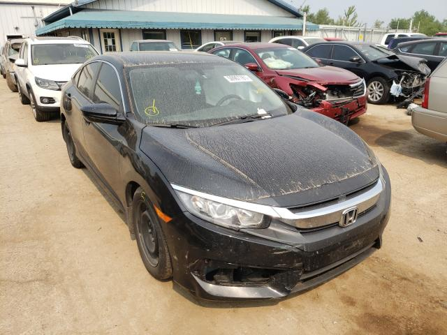 Salvage cars for sale from Copart Pekin, IL: 2018 Honda Civic LX