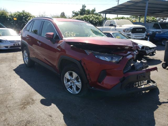 Salvage cars for sale from Copart San Martin, CA: 2020 Toyota Rav4 LE