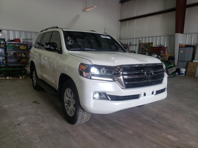 Upcoming salvage cars for sale at auction: 2020 Toyota Land Cruiser