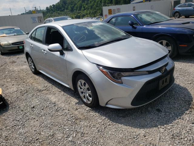 Salvage cars for sale from Copart Hurricane, WV: 2020 Toyota Corolla LE