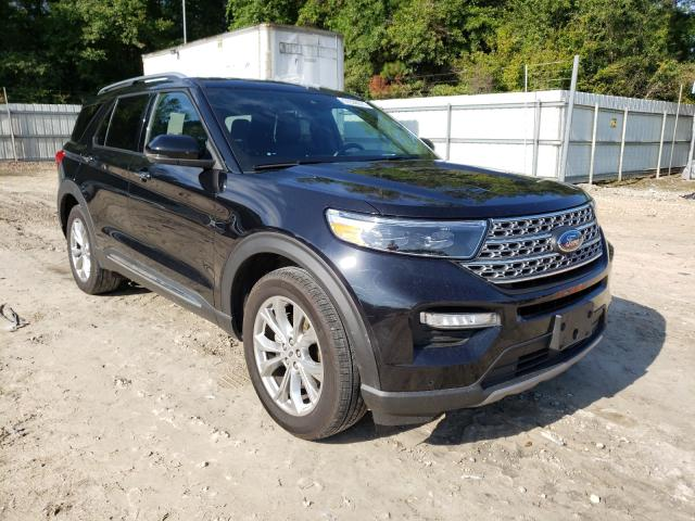 Salvage cars for sale from Copart Midway, FL: 2020 Ford Explorer L