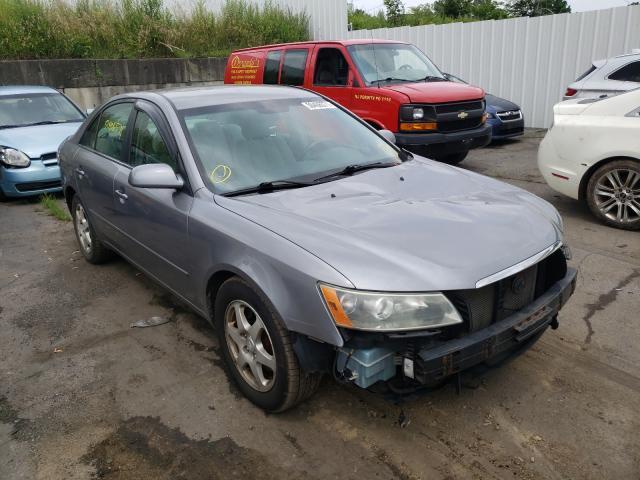 Salvage cars for sale from Copart Marlboro, NY: 2006 Hyundai Sonata GLS