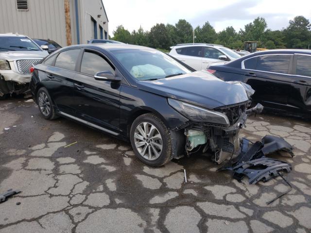 Salvage cars for sale at Memphis, TN auction: 2015 Hyundai Sonata Sport