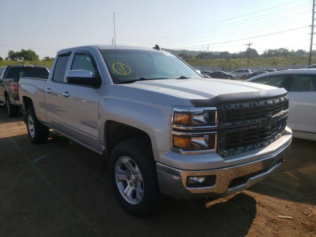 Salvage trucks for sale at Colorado Springs, CO auction: 2015 Chevrolet Silverado