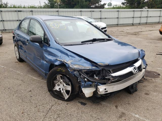 Vehiculos salvage en venta de Copart Moraine, OH: 2011 Honda Civic VP
