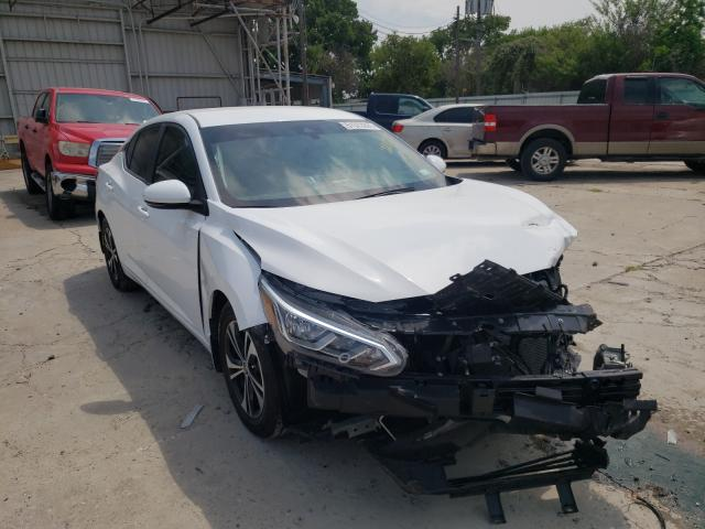Salvage cars for sale from Copart Corpus Christi, TX: 2020 Nissan Sentra SV