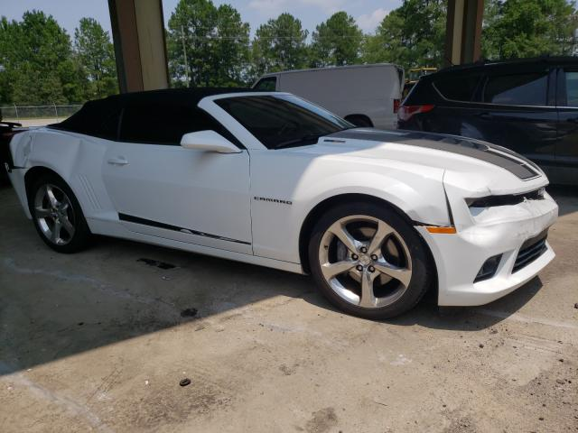 Salvage cars for sale at Gaston, SC auction: 2014 Chevrolet Camaro 2SS