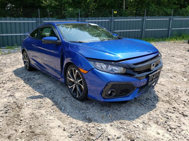 Salvage cars for sale from Copart Candia, NH: 2019 Honda Civic SI