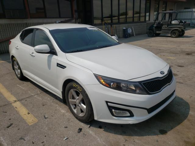 Salvage cars for sale from Copart Fort Wayne, IN: 2015 KIA Optima LX