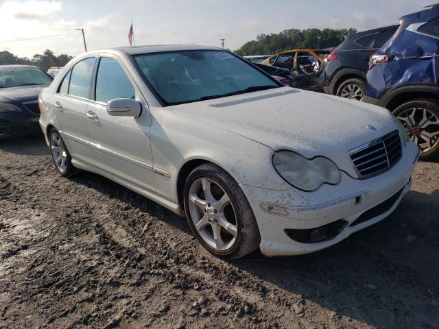 Mercedes-Benz salvage cars for sale: 2007 Mercedes-Benz C 230
