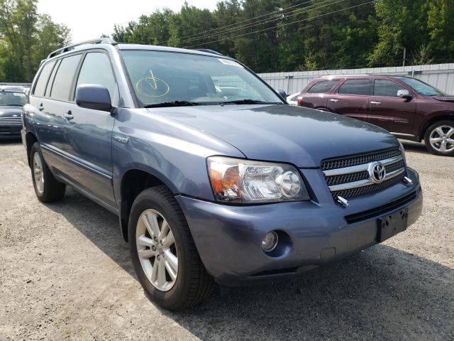 Salvage cars for sale from Copart Fredericksburg, VA: 2006 Toyota Highlander
