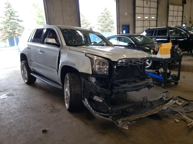Salvage cars for sale from Copart Blaine, MN: 2016 GMC Yukon SLE