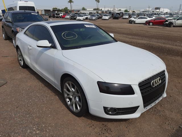 Salvage cars for sale at Phoenix, AZ auction: 2012 Audi A5 Premium