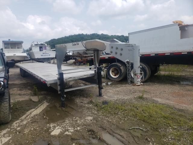 Salvage cars for sale from Copart Ellwood City, PA: 2018 Cust Tanker Trailer