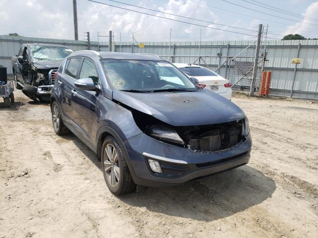 Salvage cars for sale at Conway, AR auction: 2014 KIA Sportage S