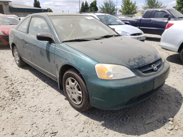 Honda Civic salvage cars for sale: 2001 Honda Civic