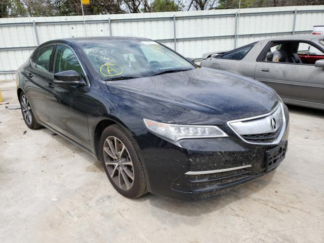 Salvage cars for sale from Copart Corpus Christi, TX: 2015 Acura TLX Tech