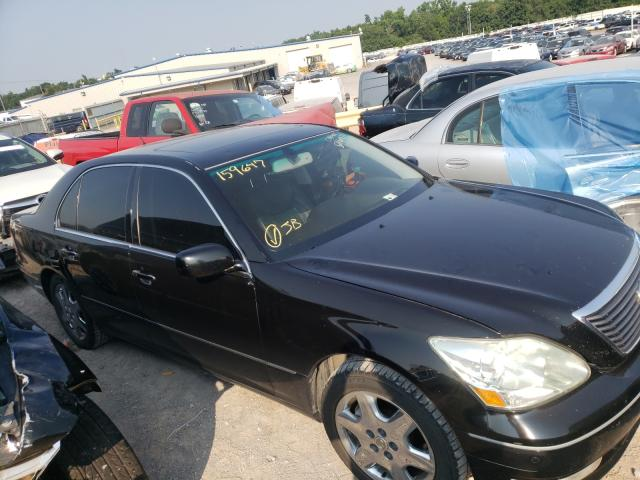 Salvage cars for sale at Oklahoma City, OK auction: 2004 Lexus LS 430