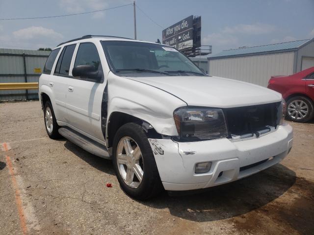 Salvage cars for sale at Wichita, KS auction: 2008 Chevrolet Trailblazer