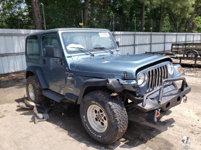 Salvage cars for sale from Copart Austell, GA: 1998 Jeep Wrangler