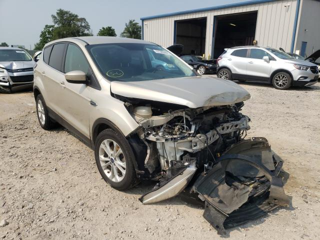 Salvage cars for sale from Copart Sikeston, MO: 2017 Ford Escape SE