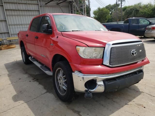 Salvage cars for sale from Copart Corpus Christi, TX: 2011 Toyota Tundra CRE