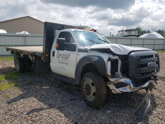 Salvage 2015 FORD F550 - Small image. Lot 51436331