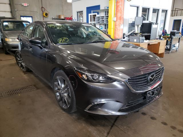 Mazda 6 salvage cars for sale: 2017 Mazda 6