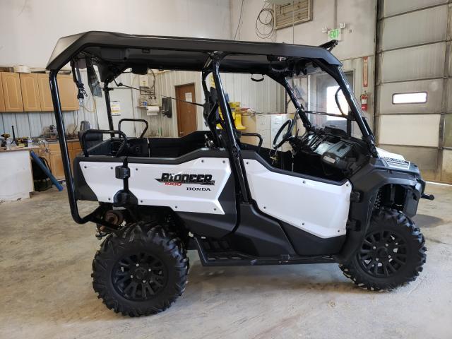 Honda SXS1000 salvage cars for sale: 2021 Honda SXS1000