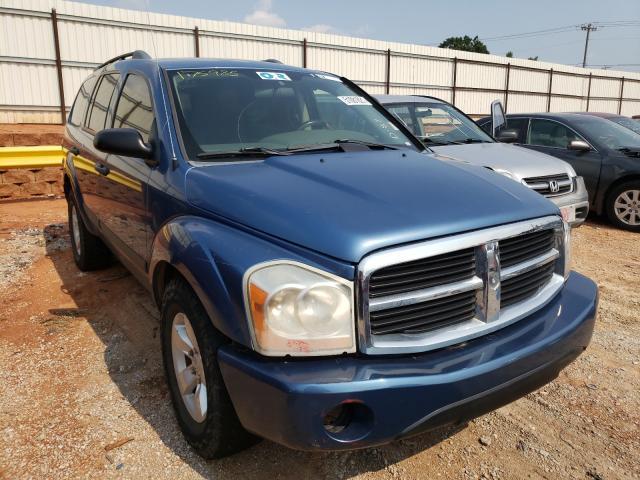 Vehiculos salvage en venta de Copart Oklahoma City, OK: 2006 Dodge Durango SL
