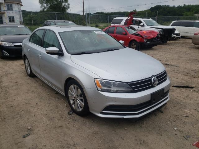 Vehiculos salvage en venta de Copart Madison, WI: 2015 Volkswagen Jetta TDI
