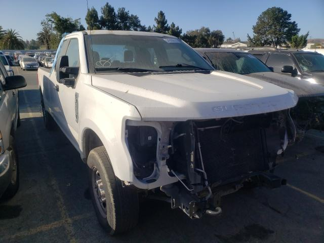 Salvage cars for sale from Copart Vallejo, CA: 2019 Ford F250 Super
