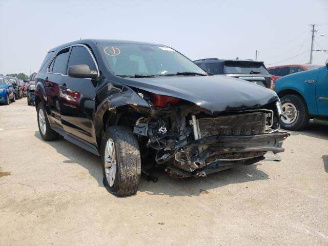 Salvage cars for sale from Copart Louisville, KY: 2015 Chevrolet Equinox LS